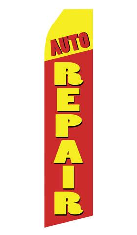 Auto Repair Swooper Flag