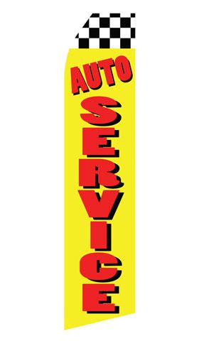 Auto Service Swooper Flag