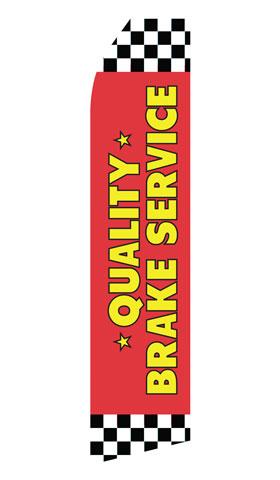 Quality Brake Service Swooper Flag