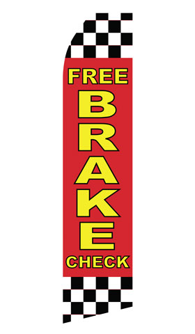 Free Brake Check Swooper Flag