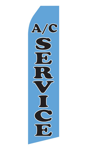 Air Conditioning Service Swooper Flag