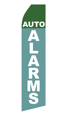 Auto Alarms Swooper Flag