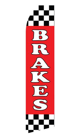 Brakes Service Swooper Flag