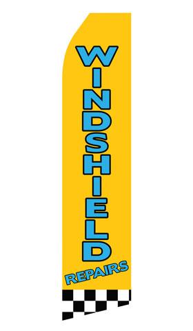 Windshield Repairs Swooper Flag