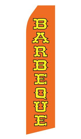 Orange Barbeque Swooper Flag