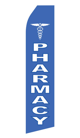 Pharmacy Swooper Flag