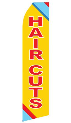 Haircuts Swooper Flag