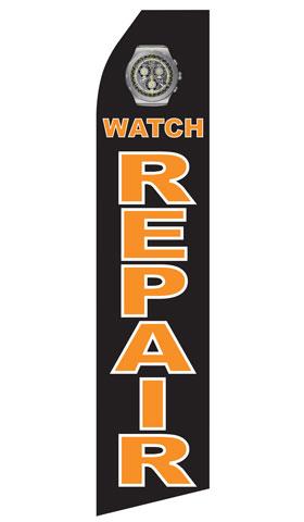Watch Repair Swooper Flag