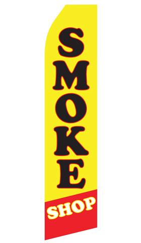 Smoke Shop Swooper Flag