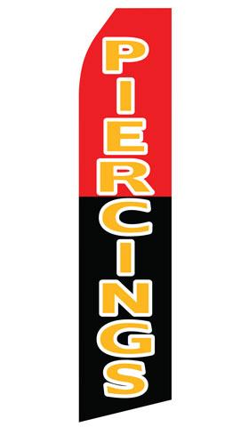 Piercings Swooper Flag