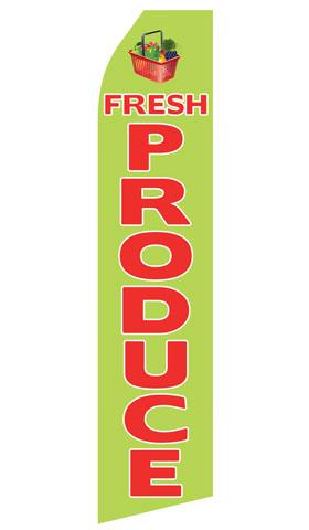 Fresh Produce Swooper Flag