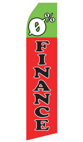 0% Finance Swooper Flag