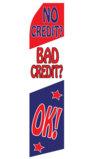 No Credit/Bad Credit OK! Swooper Flag