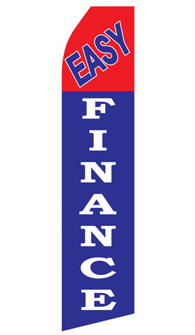 Easy Finance Swooper Flag