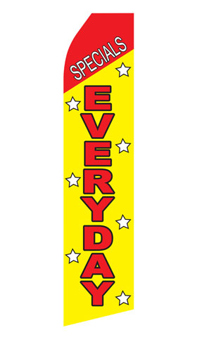 Specials Everyday Swooper Flag