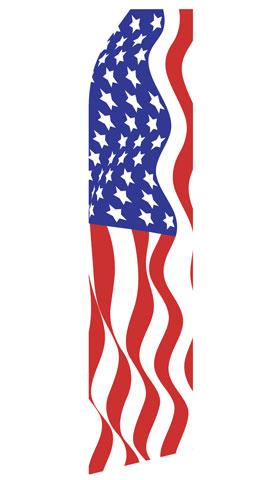 American Flag Swooper Flag