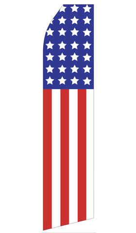 American Flag Swooper Flag