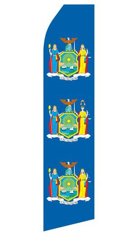 New York Flag Swooper Flag
