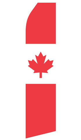 Canadian Swooper Flag