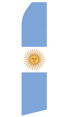Argentina Flag Swooper Flag