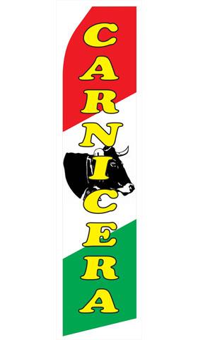 Carnicera Swooper Flag
