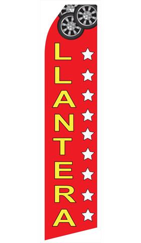 Llantera Swooper Flag