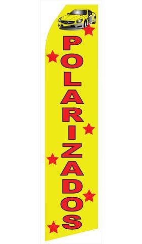 Polarizados Swooper Flag