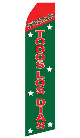 Especiales Todos Los Dias Swooper Flag