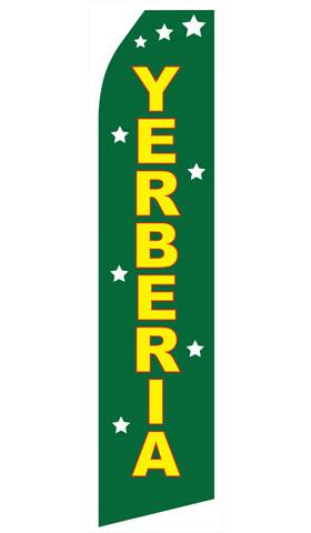 Yerberia Swooper Flag
