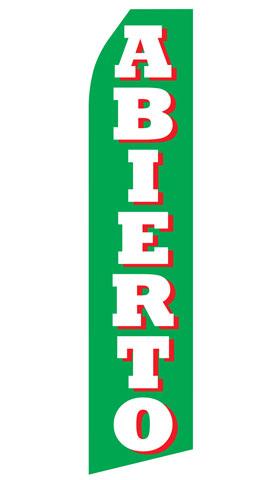 Abierto Swooper Flag