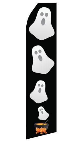 Halloween Ghost Swooper Flag