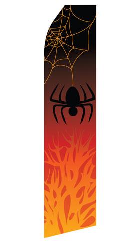 Halloween Spider Swooper Flag