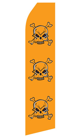 Skull Swooper Flag