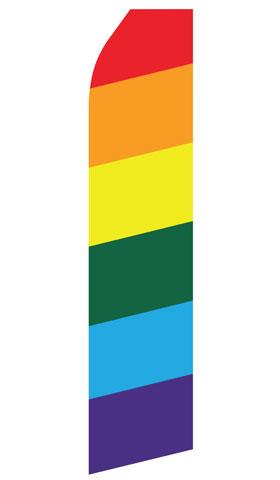 Rainbow Swooper Flag