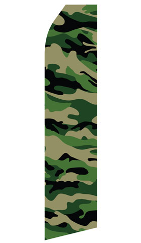 Camo Swooper Flag