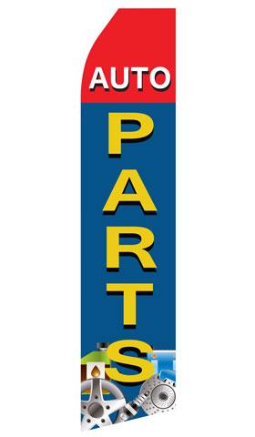 Auto Parts Swooper Flag
