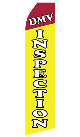 DMV Inspection Swooper Flag