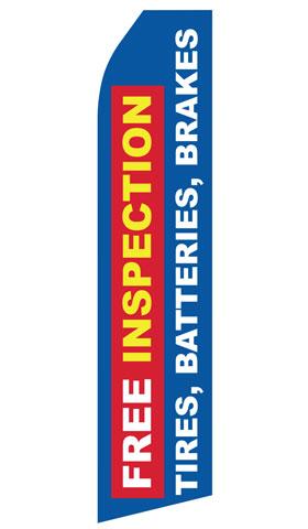 Free Inspection Tires Batteries Brakes Swooper Flag