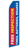 Free Inspection Tires Batteries Brakes Swooper Flag