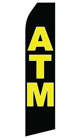 ATM Swooper Flag
