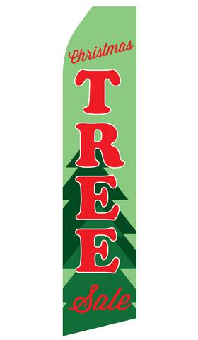 Christmas Tree Sale Swooper Flag