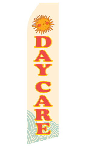 Day Care Swooper Flag
