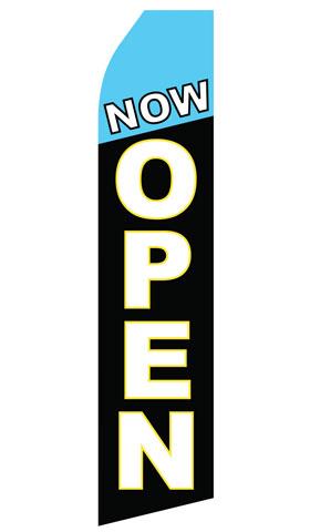 Now Open Swooper Flag