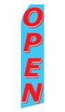 Blue Open Swooper Flag
