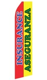 Insurance Aseguranza Swooper Flag