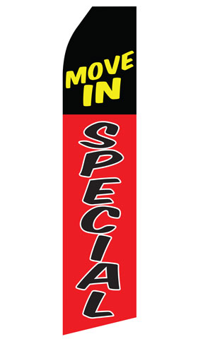 Move In Special Swooper Flag