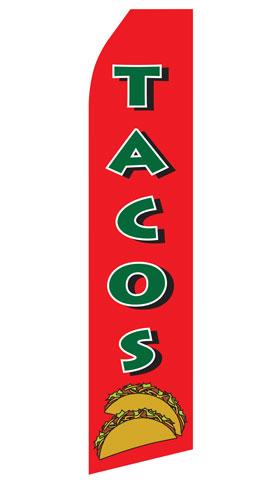 Tacos Swooper Flag