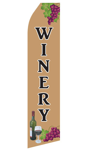 Winery Swooper Flag