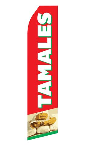 Tamales Swooper Flag