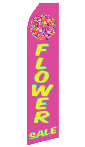 Flower Sale Swooper Flag